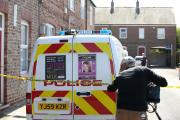 Police search locations in York as three men were arrested today on suspicion of the murder of missing chef