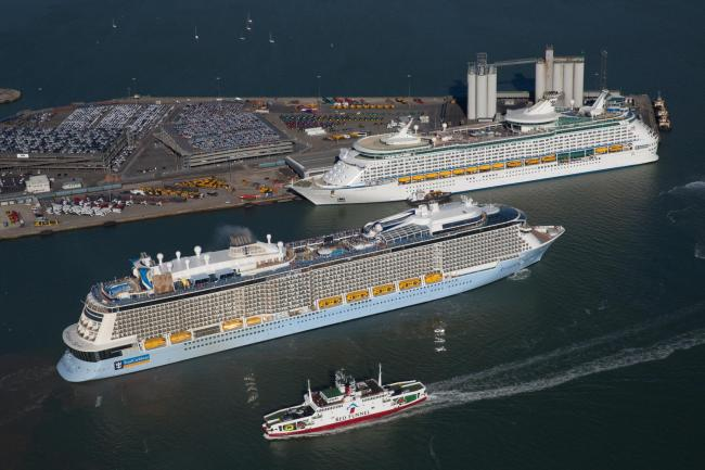 The Royal Carribean International Anthem of the Seas Picture: NEWSQUEST