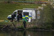 SEARCH: Police divers search for missing father Lee Brown
