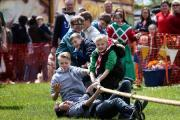 FUN: Knights put on a show at Sedgefield Medieval Fair Picture: TOM BANKS