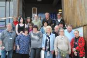 Support: Members of SWR Mind Whitby support group