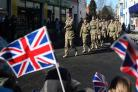 FREEDOM PARADE: Crowds line the streets as troops from 21 Engineer Regiment marched through Ripon in 2013