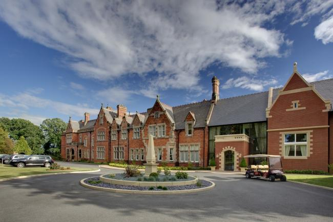 Rockliffe Hall has won an award from booking.com