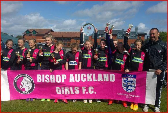 Football Bishop Auckland Girls Fc Under 12s Win Blackpool