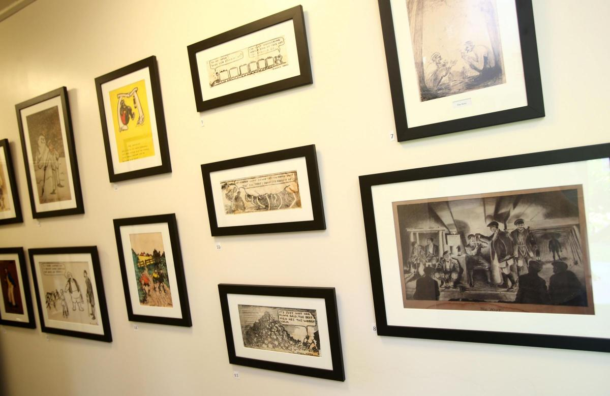 Evocative drawings of Horden pitman artist go on display for first ...