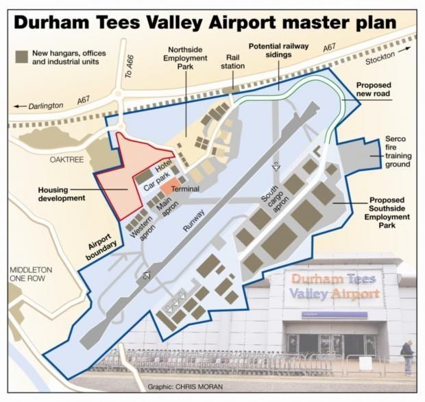 Airport operator pledges 5m in redevelopment blueprint the 10m durham tees valley airport plans could create thousands of jobs malvernweather Image collections