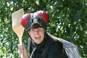 Author transforms into fly for Edinburgh Fringe comedy show