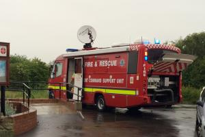Emergency services search River Wear for missing youth