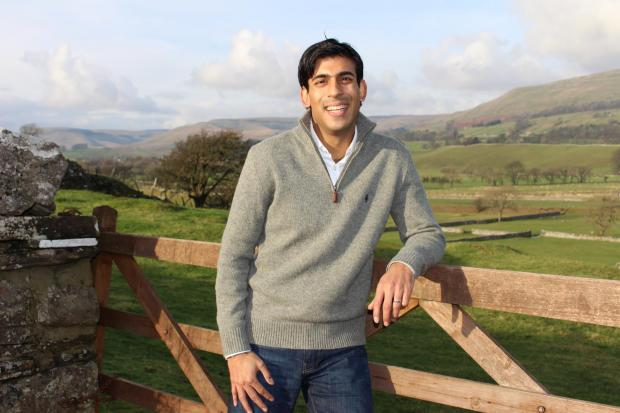 The Northern Echo: RURAL: Rishi Sunak