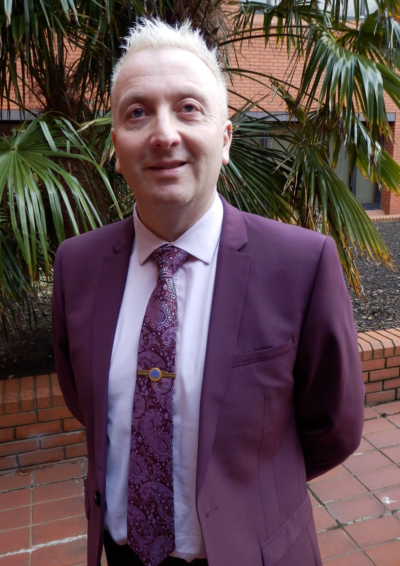 LEADER: Christopher Akers-Belcher, leader of Hartlepool Borough Council