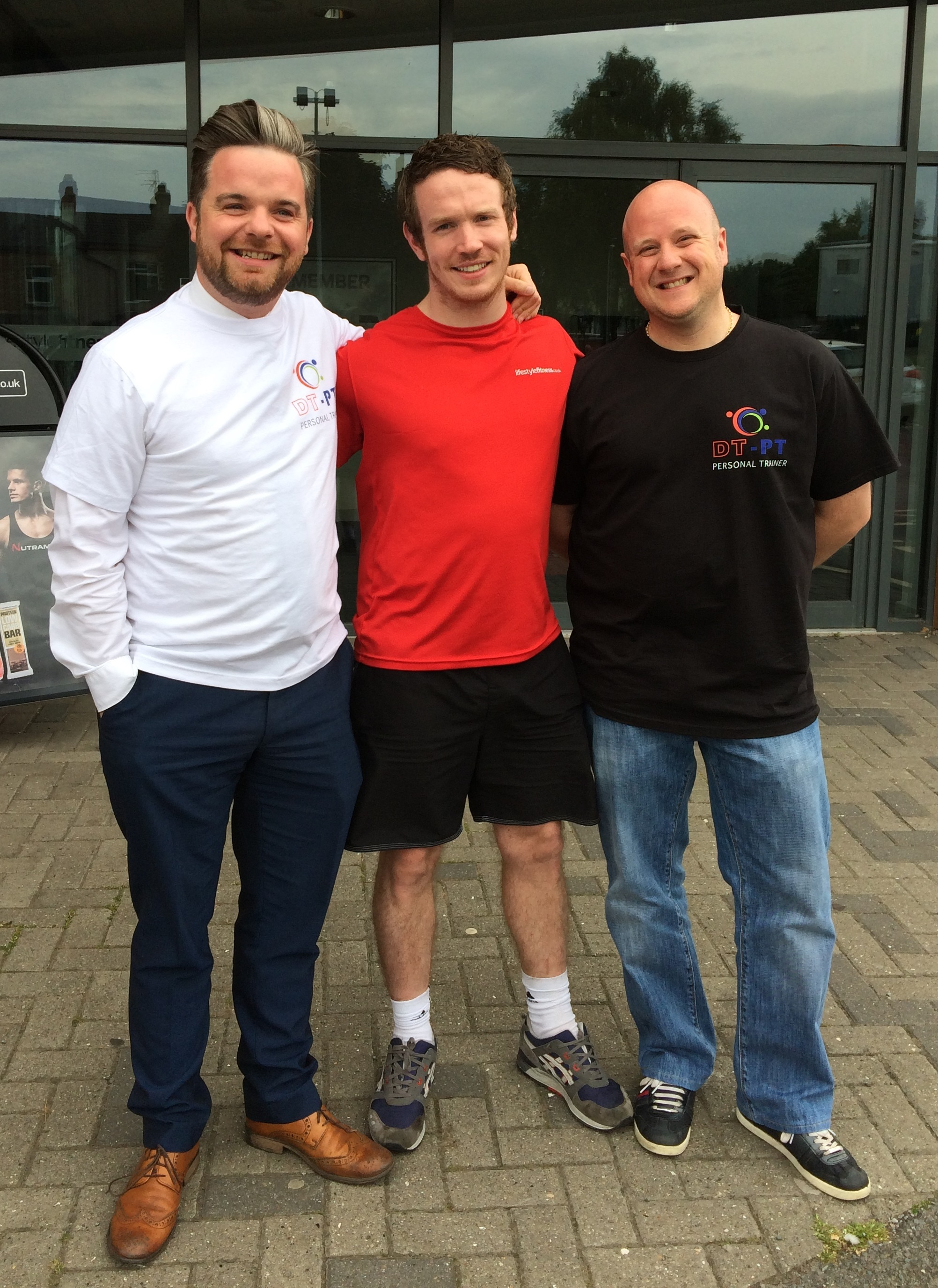 FUNDRAISERS: From left to right, Phillip Whitehead, David Thwaites and Andrew Rowley