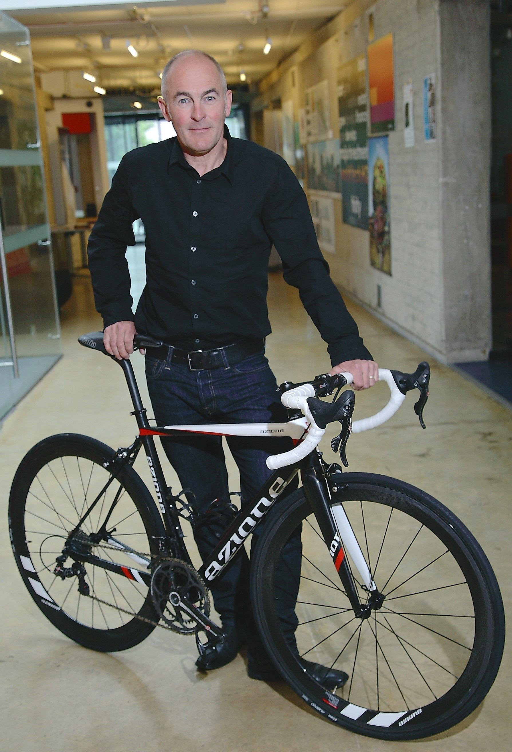 David Anderson, director of DABS Ltd and owner of Azione Custom Cycles.