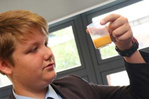 Pupils become bio-scientists for the day