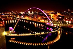 Gateshead Millennium Bridge to be lit up with colours of national charity