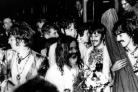 The Beatles join the Maharishi Mahesh Yogi centre at Bangor, Wales, to participate in a weekend of meditation August 1967.