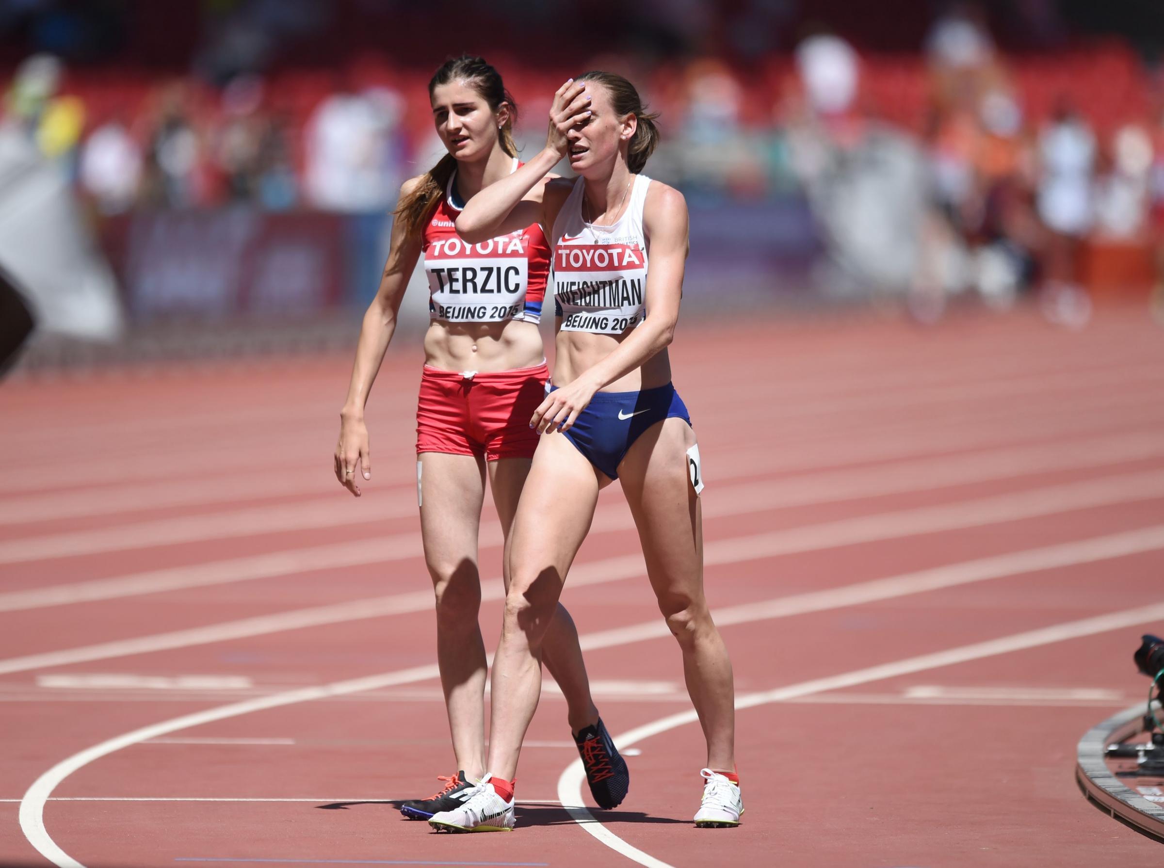 Laura Weightman injury