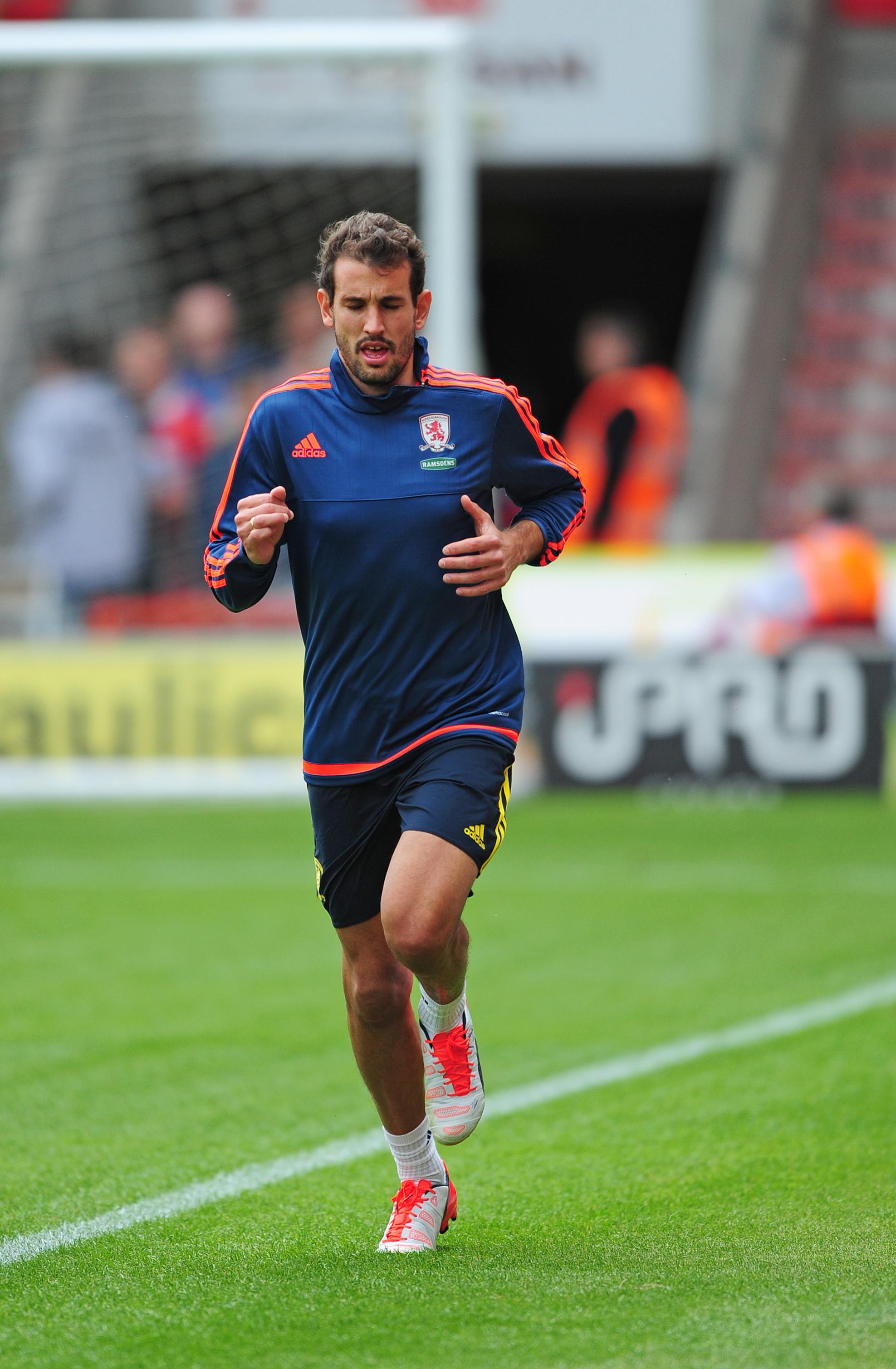 Former Middlesbrough forward set for shock move - to Barcelona