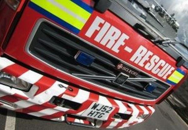 North Yorkshire Fire and Rescue Service were called to an incident in Leyburn this evening