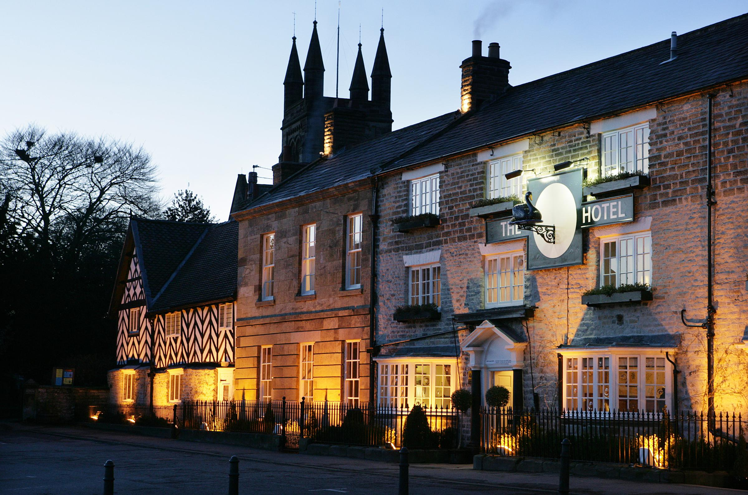 FOUNDER MEMBER: The Black Swan Hotel, in Helmsley, which has helped launch a business group to battle fracking proposals