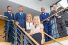 TEAM: Baker Tilly's trainees include, from left, Jack Smith, Rory Sewell, Amy Thorns, Danielle Carrick, Shea Waters and David Matthias