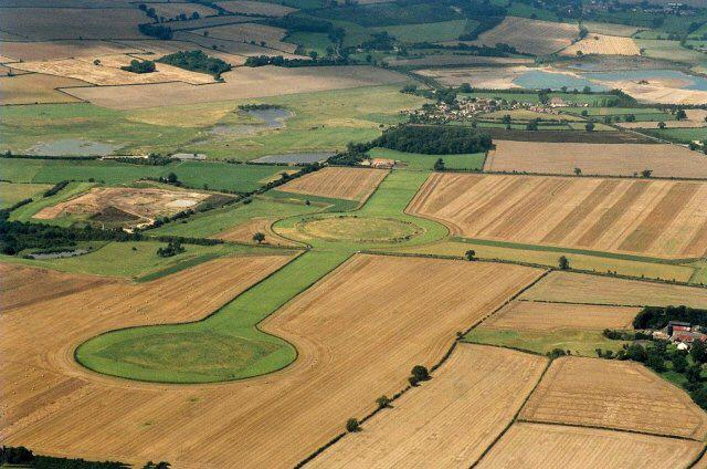 ENERGY SCHEME: Thornborough Henges, near the site of a proposed small-scale solar farm