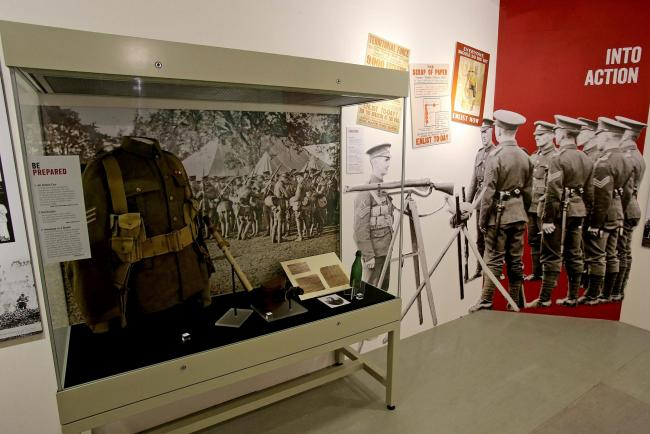 FACING CLOSURE: Durham Light Infantry Museum