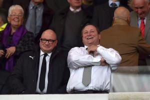 MEN IN CHARGE: Lee Charnley (left) and Mike Ashley (right)