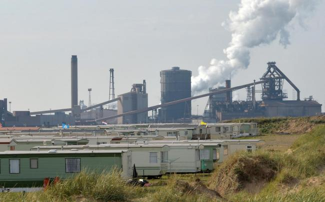 SSI Steelworks in Redcar was among the firms hit with green taxes that David Cameron has now agreed to ease. Picture: Anna Gowthorpe/PA Wire.