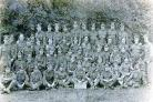 BANTAM BATTALION: The 13th Yorkshire Regiment (Green Howards) which includes Fred Docherty, and possibly his brothers, George and Ernest. Picture courtesy of Darlington Centre for Local Studies