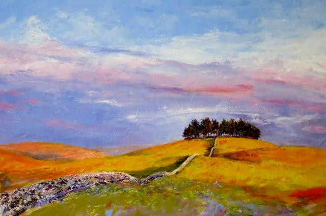 Kirkcarrion, Afternoon Sun by Ann Whitfield