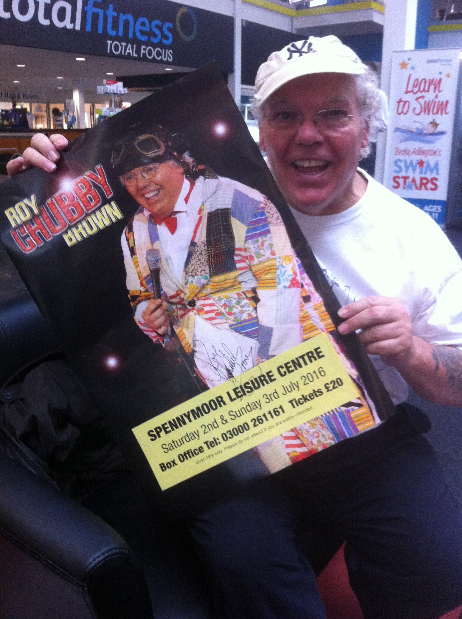 Chubby brown shows