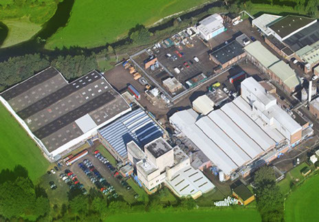 Kendal Nutricare's factory off Shap Road