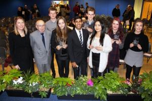 School celebrates a year of excellence at prize giving night