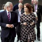 The Northern Echo: Professor Chris Brink, who is retiring as vice-chancellor of Newcastle University, shows Princess Eugenie, a former Newcastle University student, round the campus earlier this year. Picture: MIKE URWIN