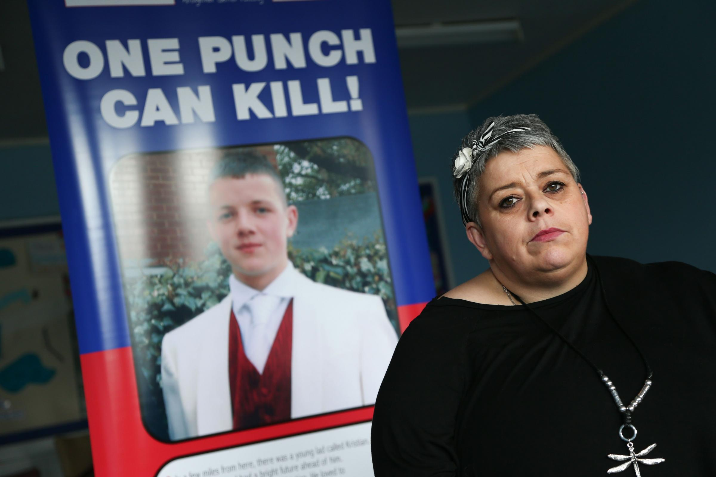 Maxine Thompson-Curl, whose son Kristian Thompson died after a one-punch attack in a Consett nightclub. Picture: TOM BANKS.