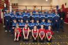 Spennymoor Boxing Academy members and volunteers in their new official club tracksuits