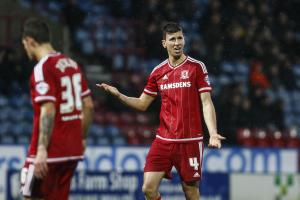 "Aitor Karanka plans a ""few changes"" and one will be replacing Boro defender Daniel Ayala at MK"