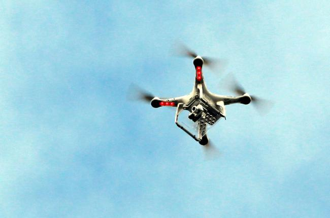 Landowners want regulations to stop drones invading people's privacy.