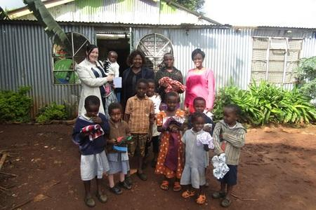 Nursing student Catherine Thompson spent time working with organisations helping street children and orphans while completing an international placement in Kenya.