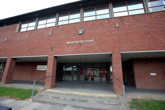 GUILTY: Kyle Connolly pleaded guilty to criminal damage at Newton Aycliffe Magistrates' Court