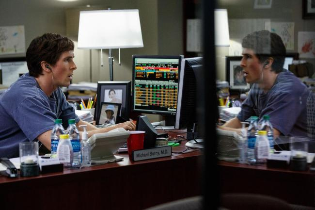 The Big Short. Pictured: Christian Bale plays Michael Burry
