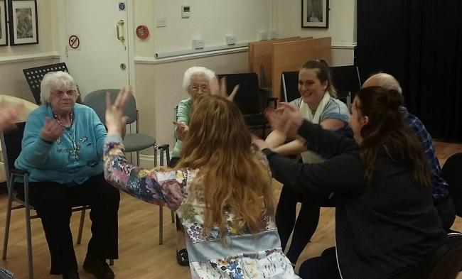 Dance classes to help with dementia have been launched at Age UK Darlington