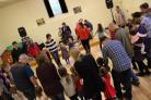 The Big Little Gig welcomed guests as young as two weeks old to enjoy a traditional ceilidh band. Picture: Andy McDonald.