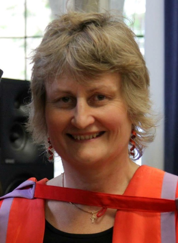 Dr Margaret Masson, the new principal of Durham University's St Chad's College
