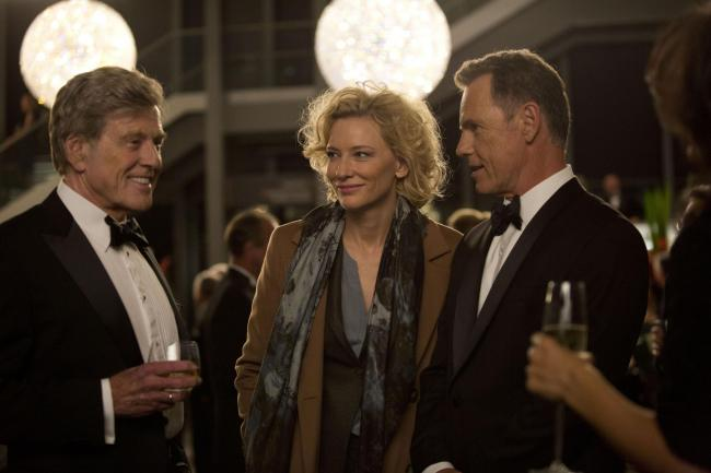 Truth. Pictured: Robert Redford, Cate Blanchett and Bruce Greenwood