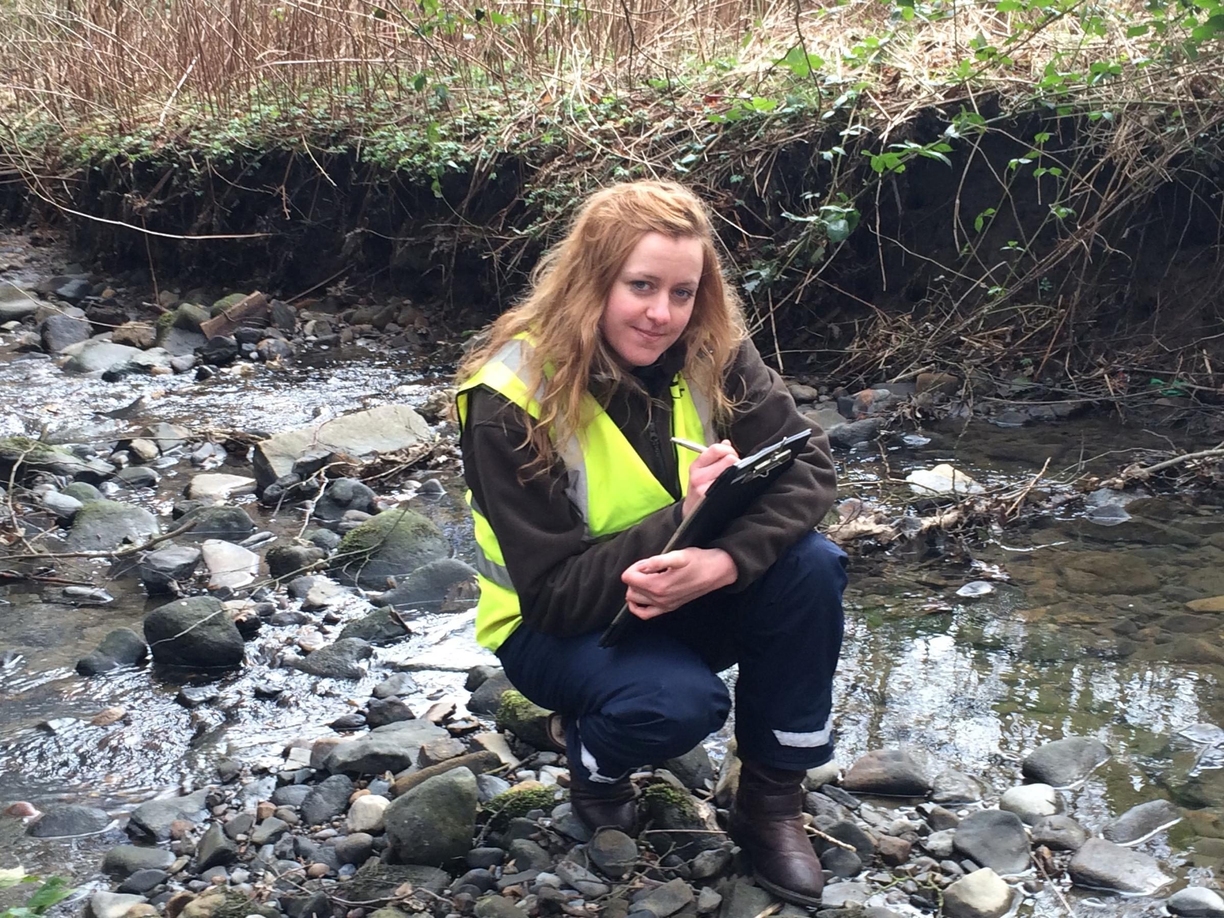 Project officer Carolyn Simpson, from Wear Rivers Trust (58207839)