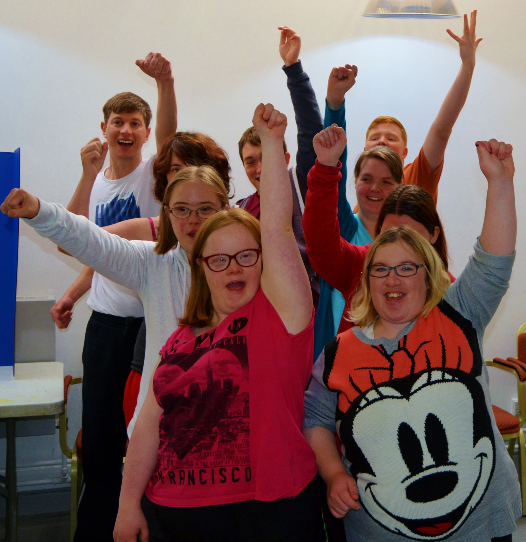 Disabled young people can take part in a three-month performing arts workshop
