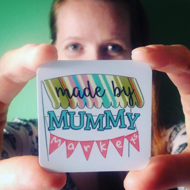 Made by Mummy Markets founder Samantha Jennings launching her new business branding.