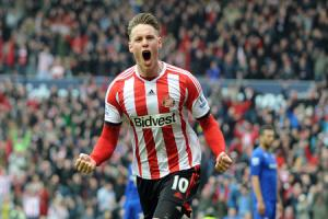 File photo dated 27/04/2014 of Sunderland's Connor Wickham. PRESS ASSOCIATION Photo. Issue date: Saturday April 26, 2014. Sunderland head coach Gus Poyet urged striker Connor Wickham to write his name in Wearside folklore. See PA story SOCCER Sunderla