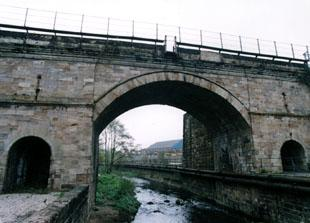 Bonomi's bridge near John Street off North Road, in Darlington